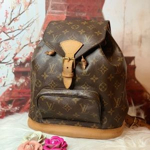 Authentic Louis Vuitton Montsouris Mm